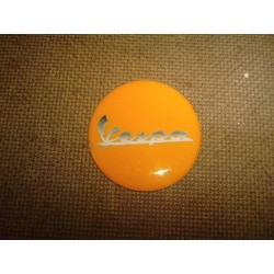 Adhesivo resina 40 mm vespa naranja