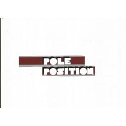 Adhesivo POLE POSITION vespa T5