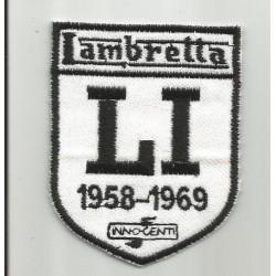 Parche bordado Lambretta LI