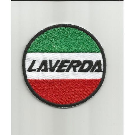 Parche bordado Laverda Italia