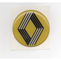 Adhesivo resina 40 mm Renault moderno