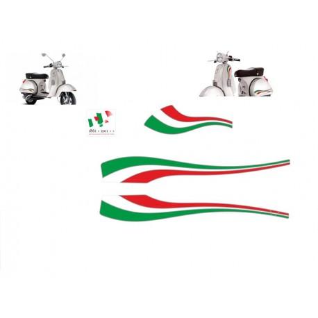 adhesivos Vespa Italia 50 aniversario