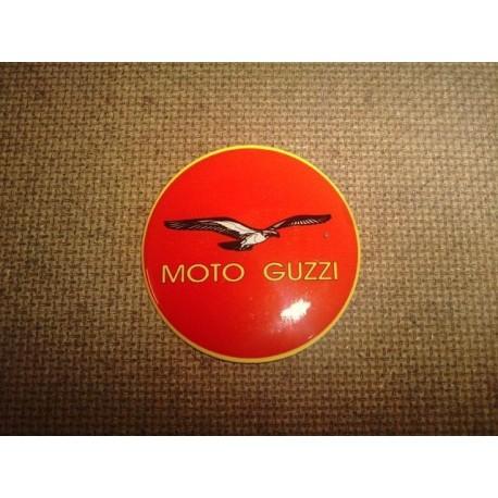 Adhesivo resina 40 mm Guzzi rojo