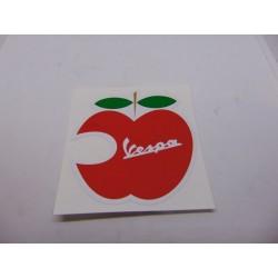 Adhesivo Vespa manzana