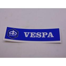 Adhesivo rectangular Vespa