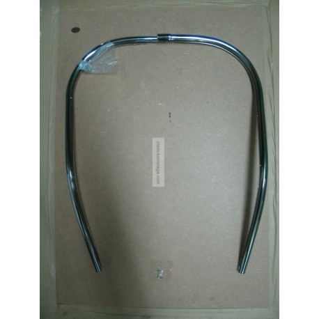 Bordon metalico cromado Vespa 160
