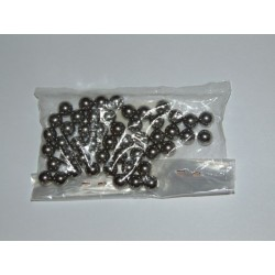 Kit bolas de acero direccion Vespa 6,35 mm