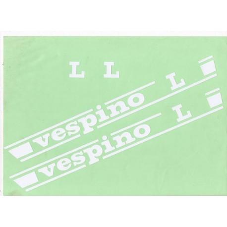 Vinilo Vespino L Blanco