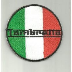 Parche bordado lambretta Italia
