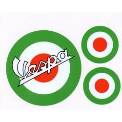 Kit vinilo Vespa MOD Verde
