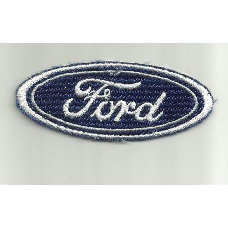 Parche bordado Ford