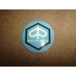 Adhesivo resina 40 mm Motovespa Azul